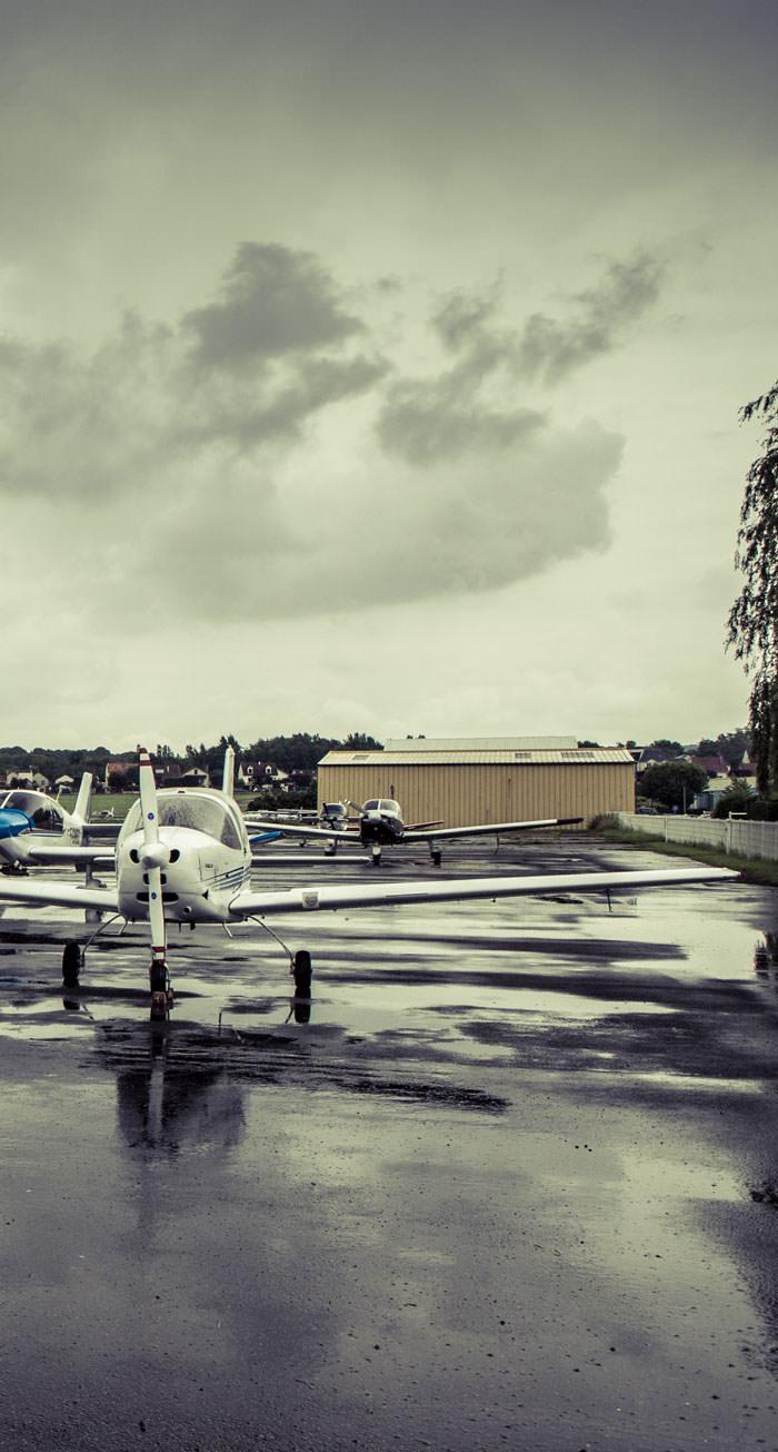 flotte avions ecole aeroclub proche paris